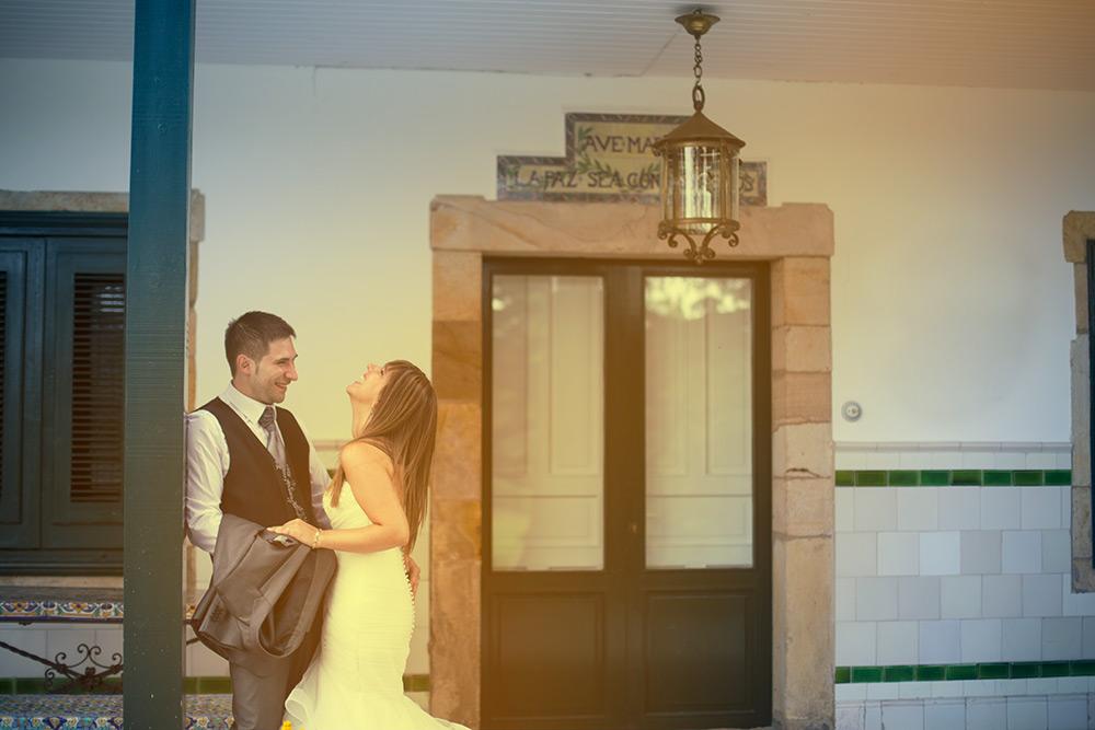 Fotógrafos bodas Solares - Risas sinceras