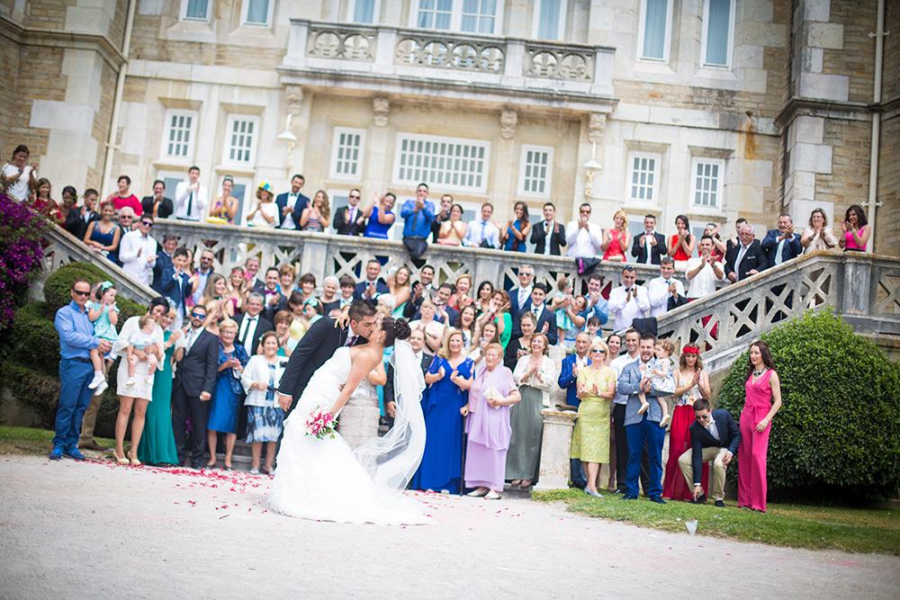 Fotógrafos bodas Santander - Palacio de la Magdalena