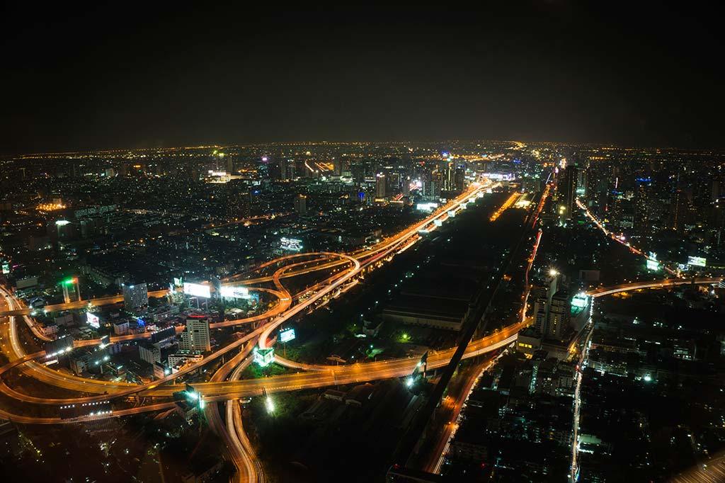 fotografía de viaje Tailandia noche Bangkok