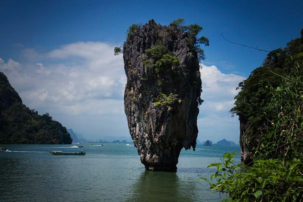 fotografía de viaje Tailandia james bond