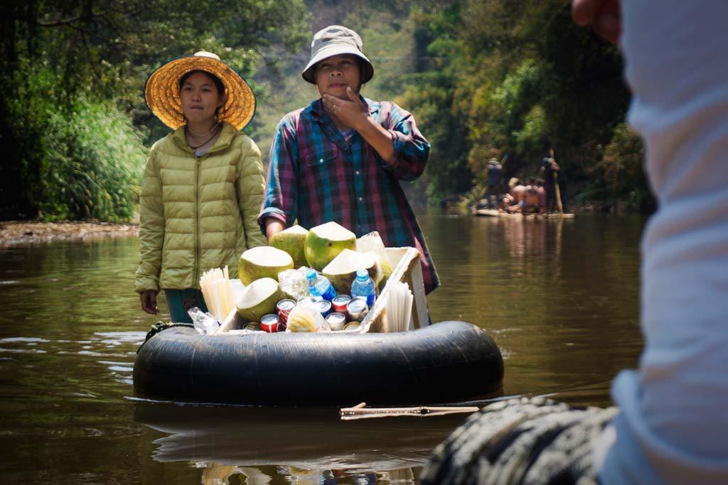 fotografía de viaje Tailandia venta agua