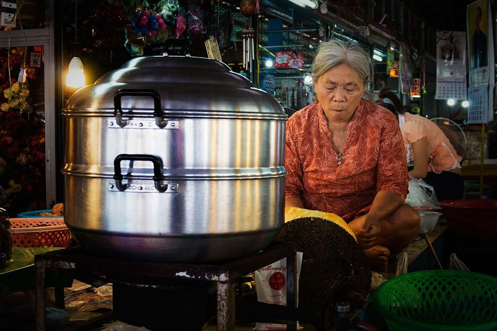 fotografía de viaje Tailandia mujer