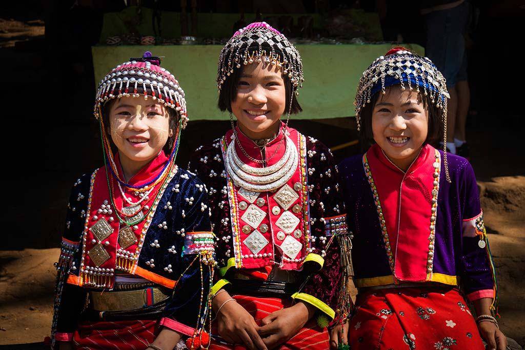 fotografía de viaje Tailandia trajes tradicionales