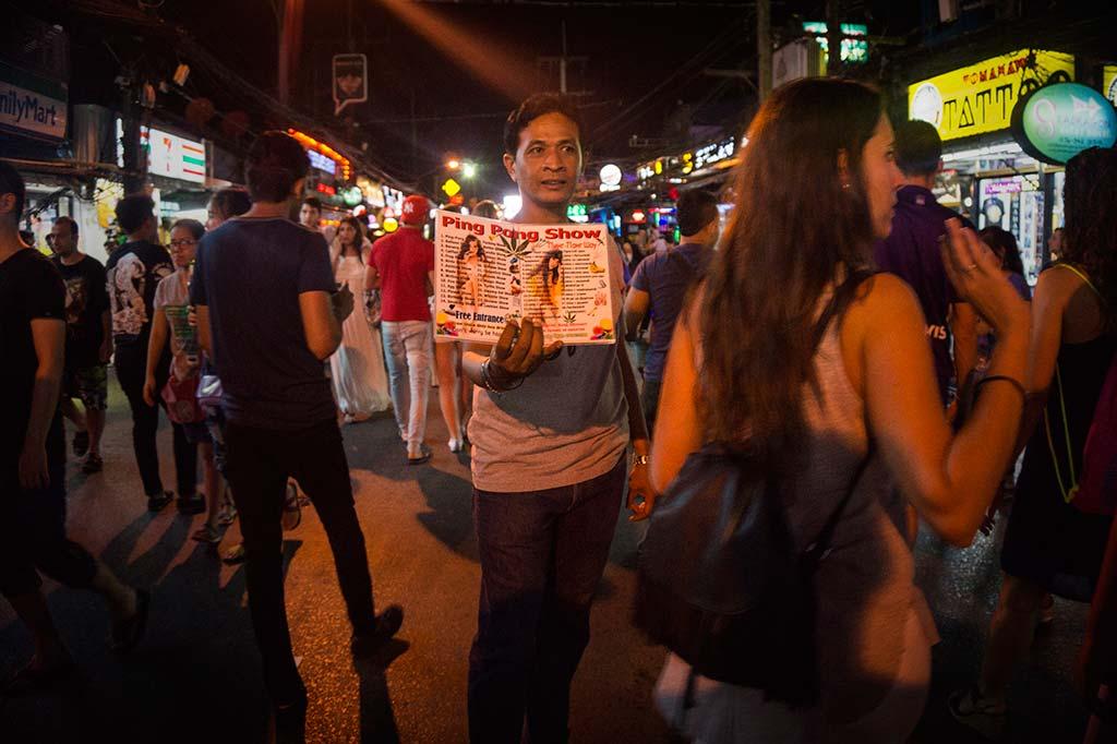 fotografía de viaje Tailandia ping pong