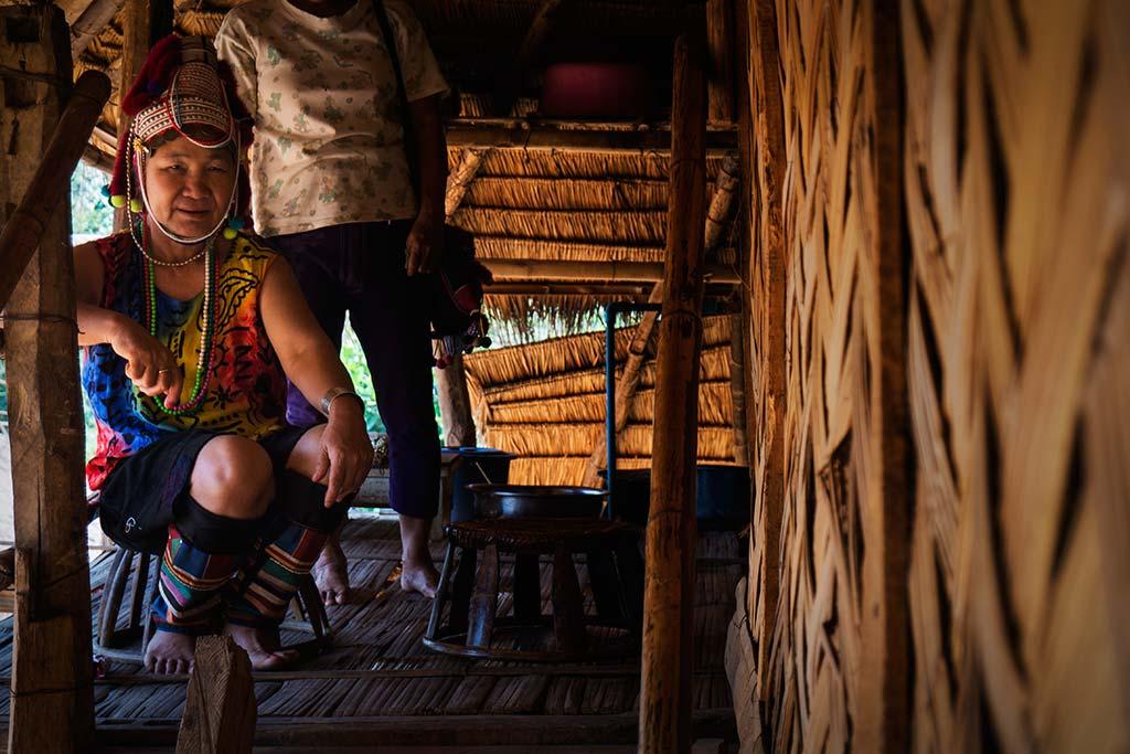 fotografía de viaje Tailandia mujer tradicion
