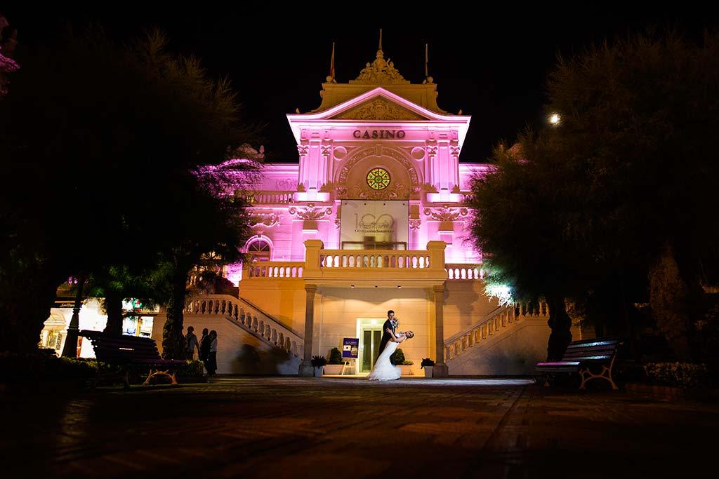 Fotos de bodas Santander Diana y Javier casino