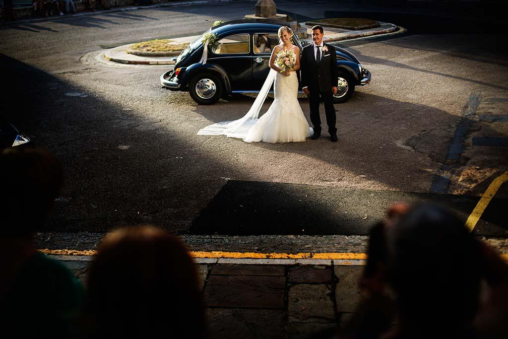 Fotos de bodas Santander Diana y Javier llegada