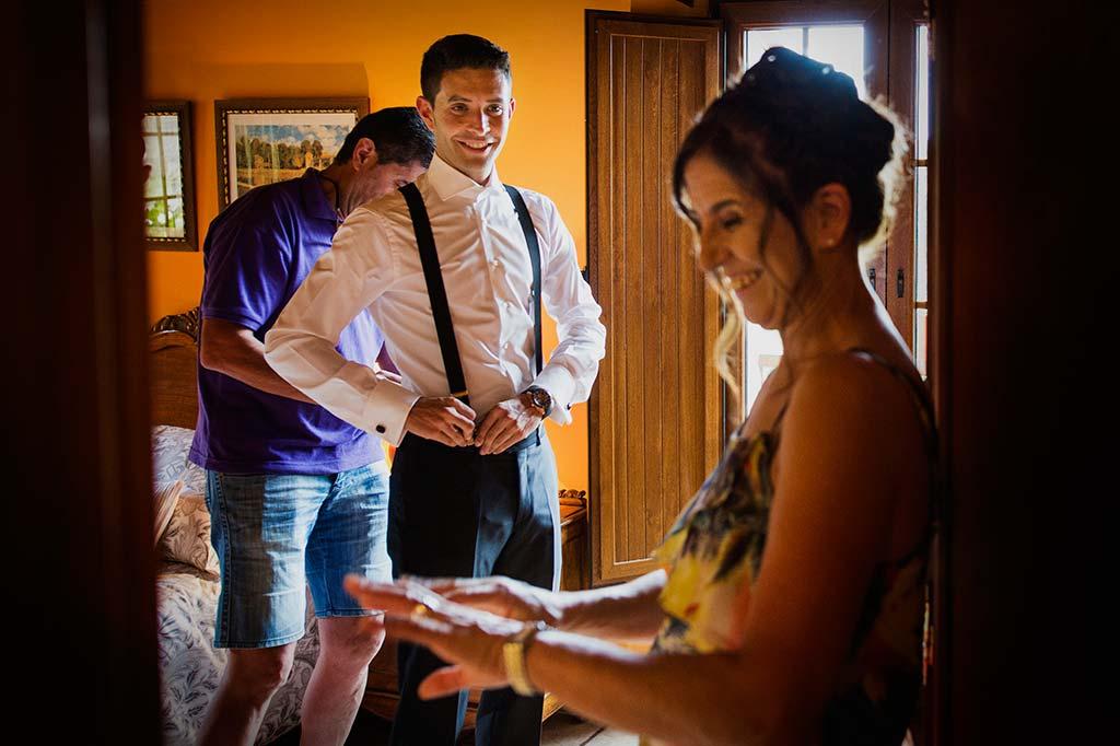 Fotos de bodas Santander Diana y Javier mama