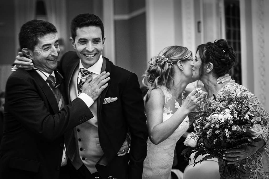 Fotos de bodas Santander Diana y Javier padrinos
