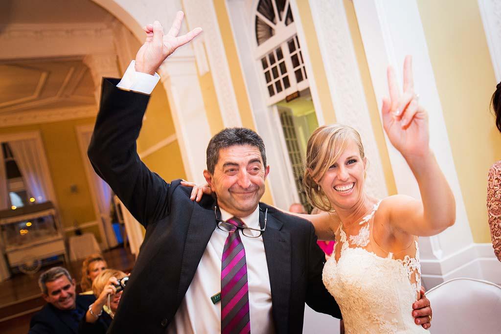 Fotos de bodas Santander Diana y Javier padrino