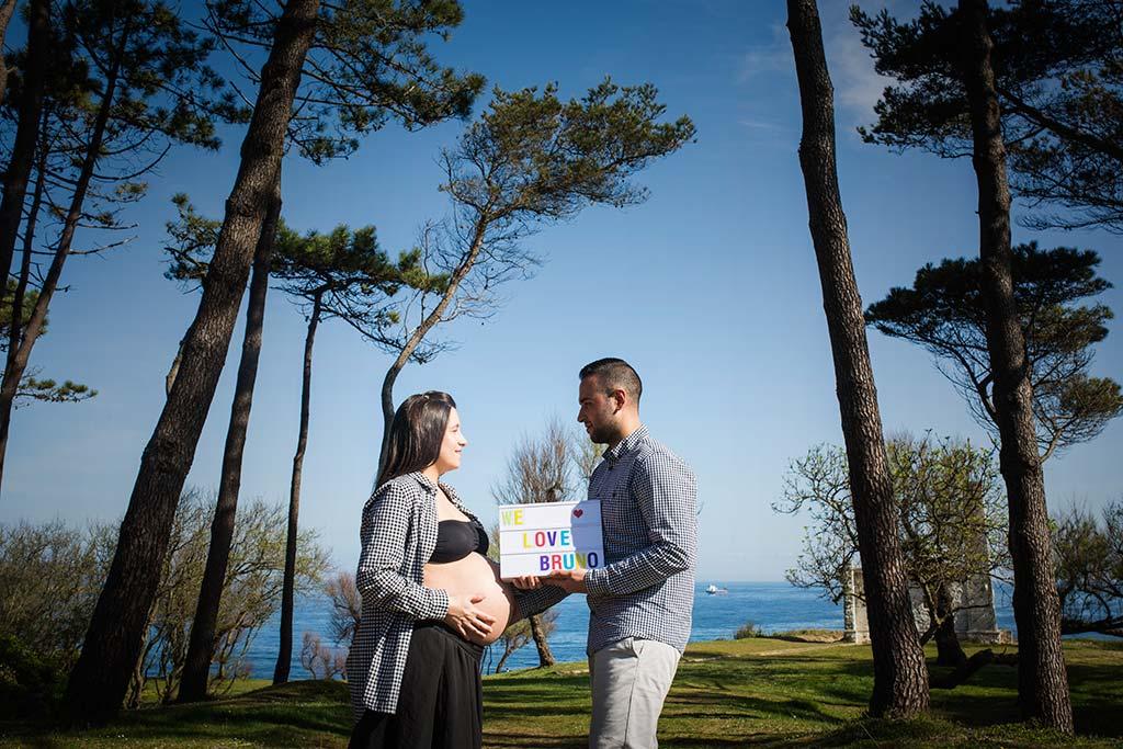 fotos de embarazadas exteriores alba y edu