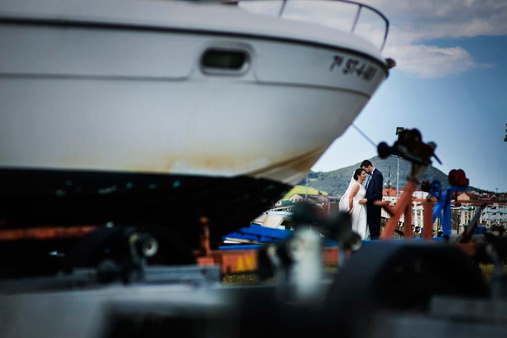fotografo bodas Laredo Cantabria barco