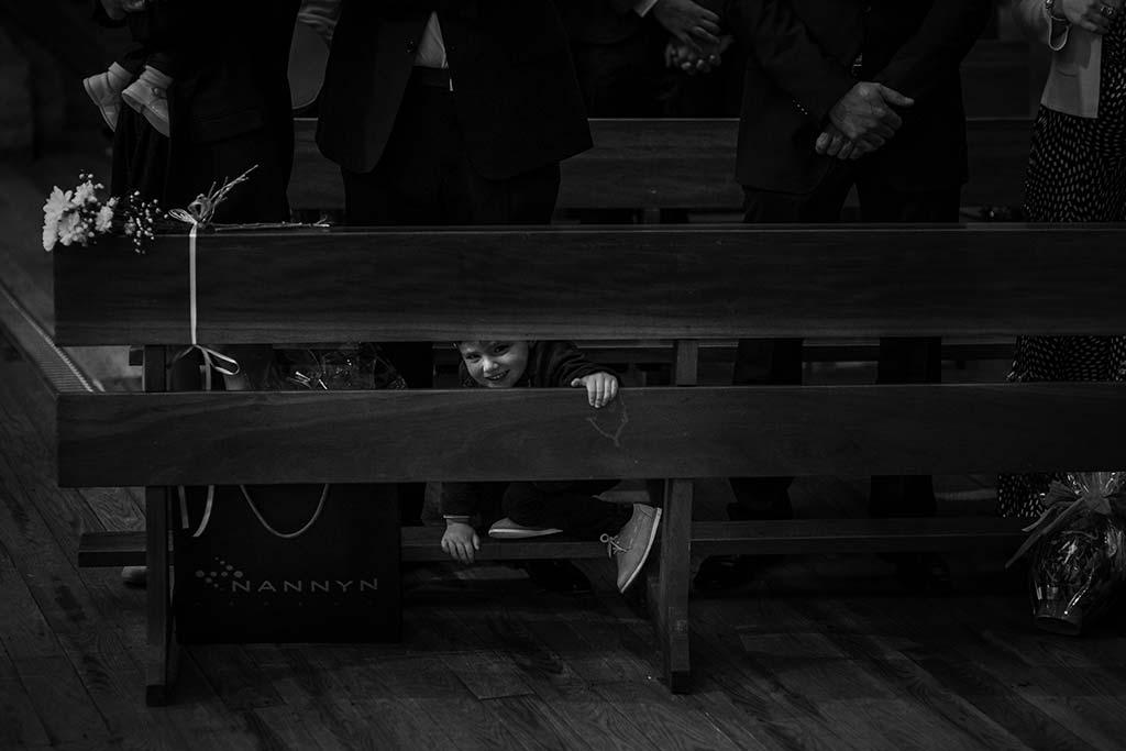 fotografo bodas Laredo Cantabria nene ceremonia