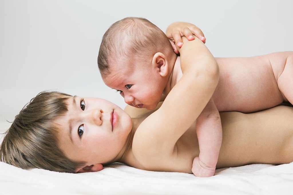 fotos de bebes Damian Marcos Greiz hermanitos
