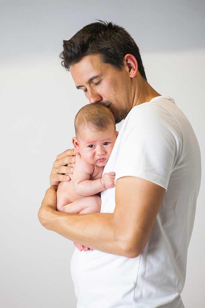 fotos de bebes Damian Marcos Greiz papa