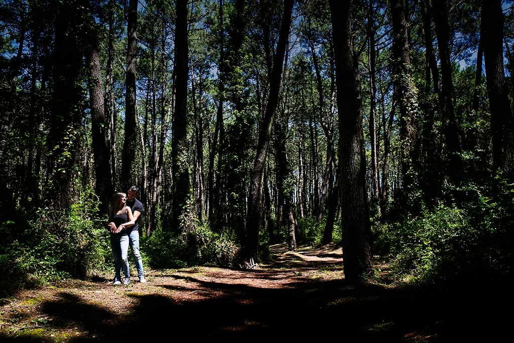 fotografo de bodas preboda liencres isa asier bosque