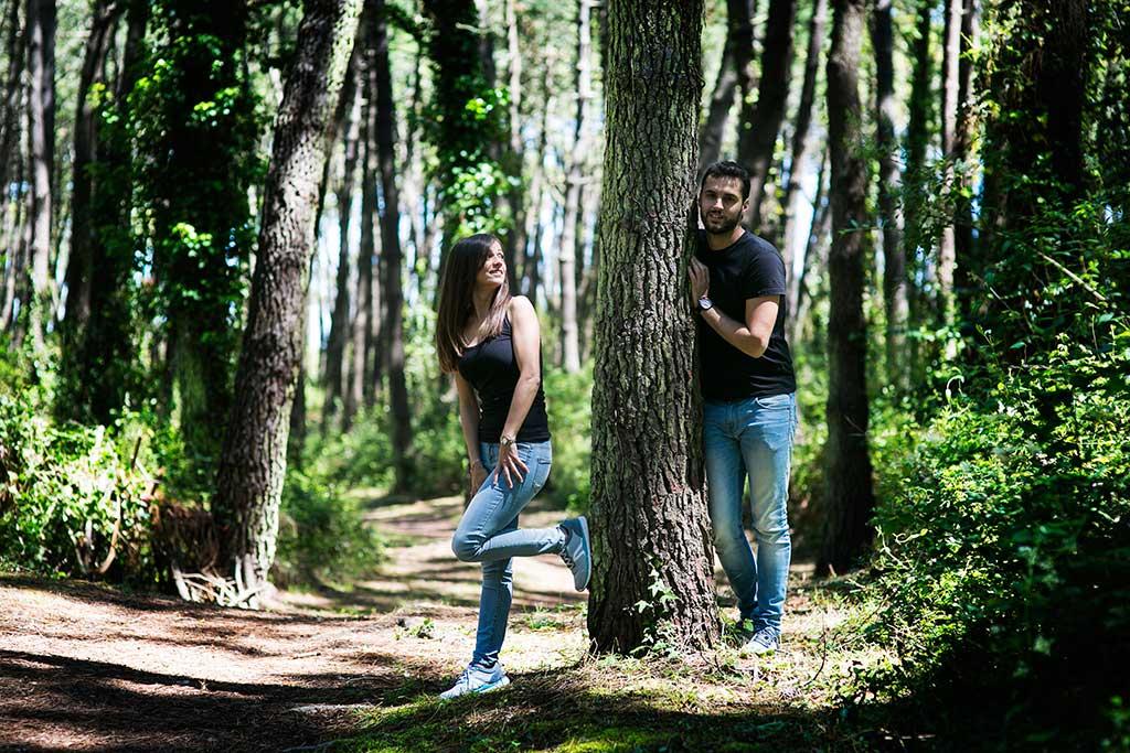 fotografo de bodas preboda liencres isa asier pareja
