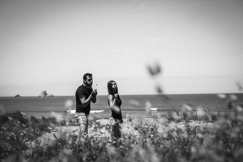 fotografo de bodas preboda liencres isa asier soplar