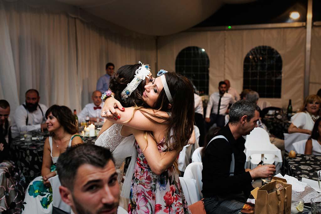 fotografo de bodas Cantabria Isa y Asier hermana