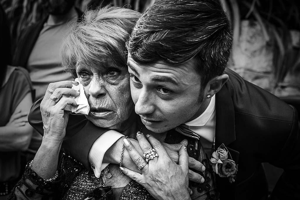 fotografo de bodas Cantabria Isa y Asier hermano y tia