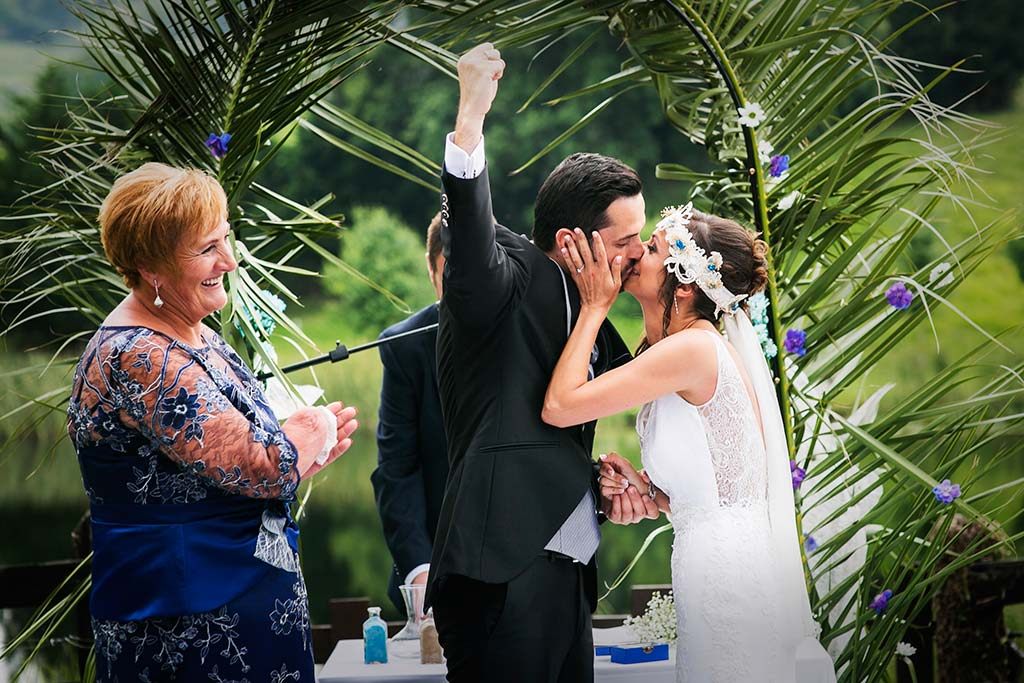 fotografo de bodas Cantabria Isa y Asier toma