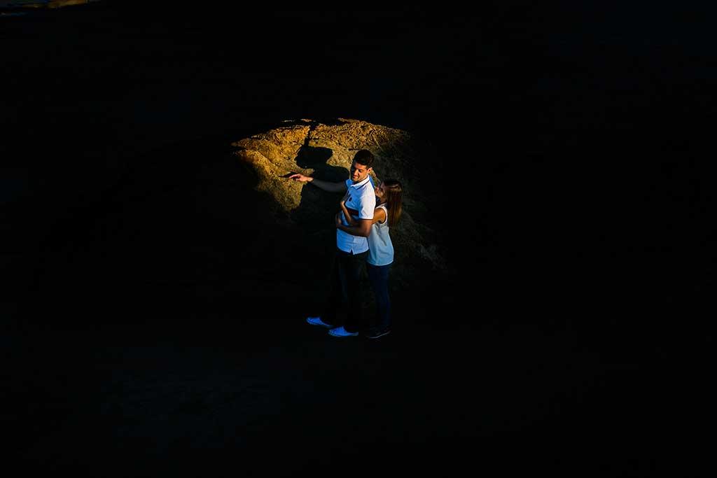 fotógrafo de bodas Cantabria preboda Mario y Carla luces de amor