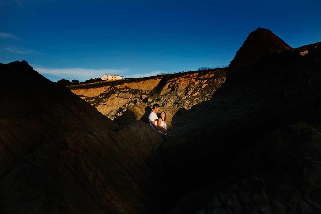 fotógrafo de bodas Cantabria preboda Mario y Carla playa