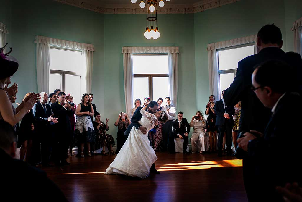 fotografo de bodas santander maria angel baile nupcial