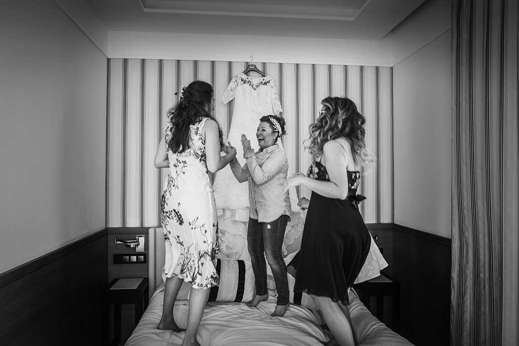 fotografo de bodas santander maria angel amigas