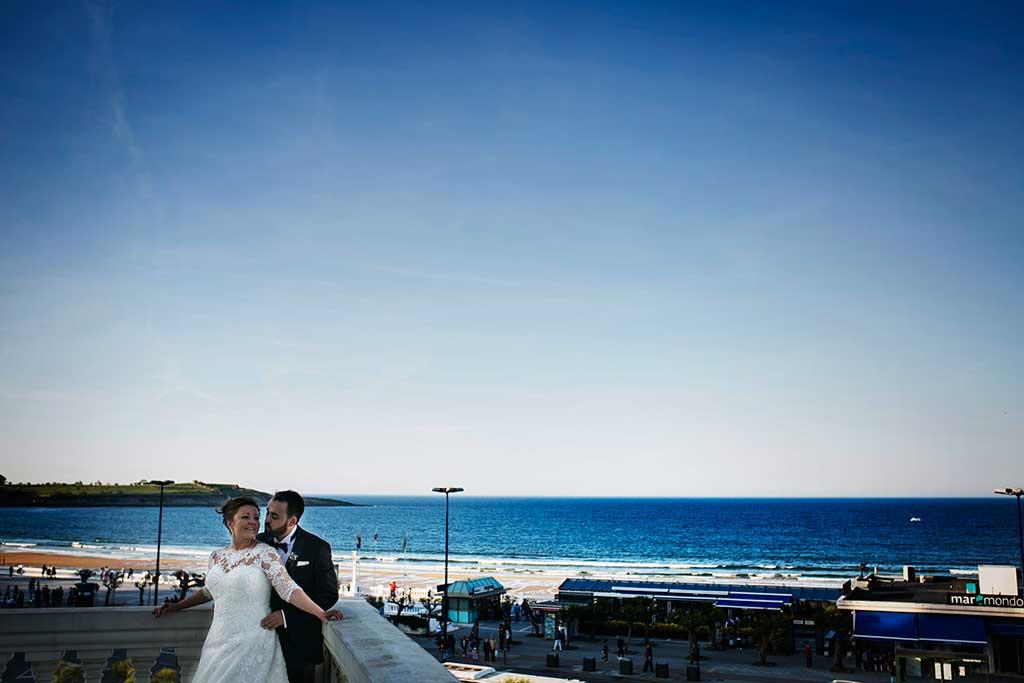 fotografo de bodas santander maria angel terraza