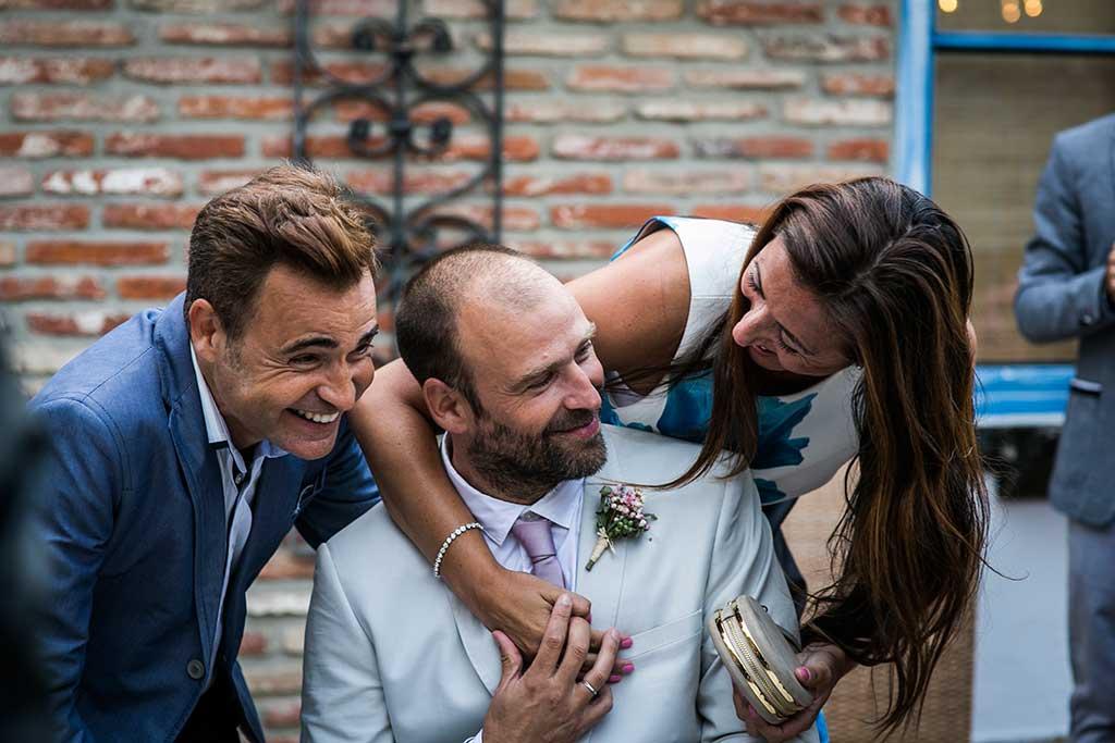 fotógrafo de bodas Cantabria amigos