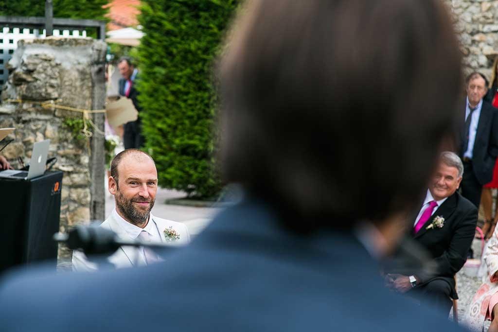 fotógrafo de bodas Cantabria novio