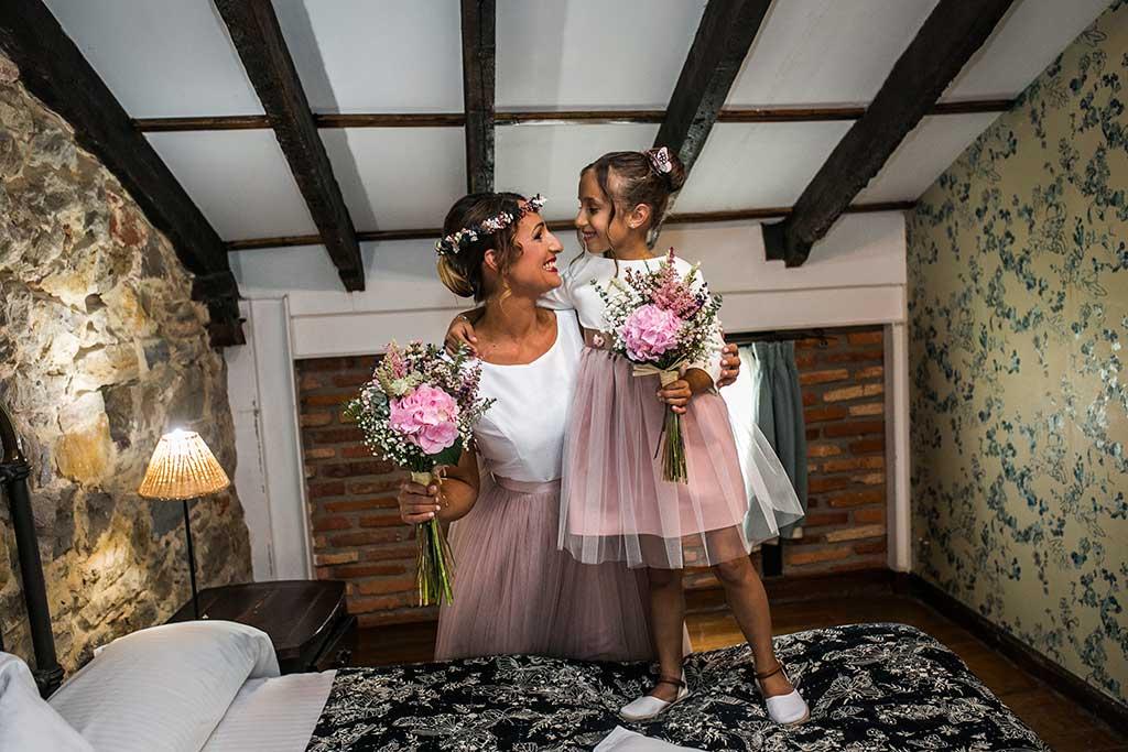 fotógrafo de bodas Cantabria mama