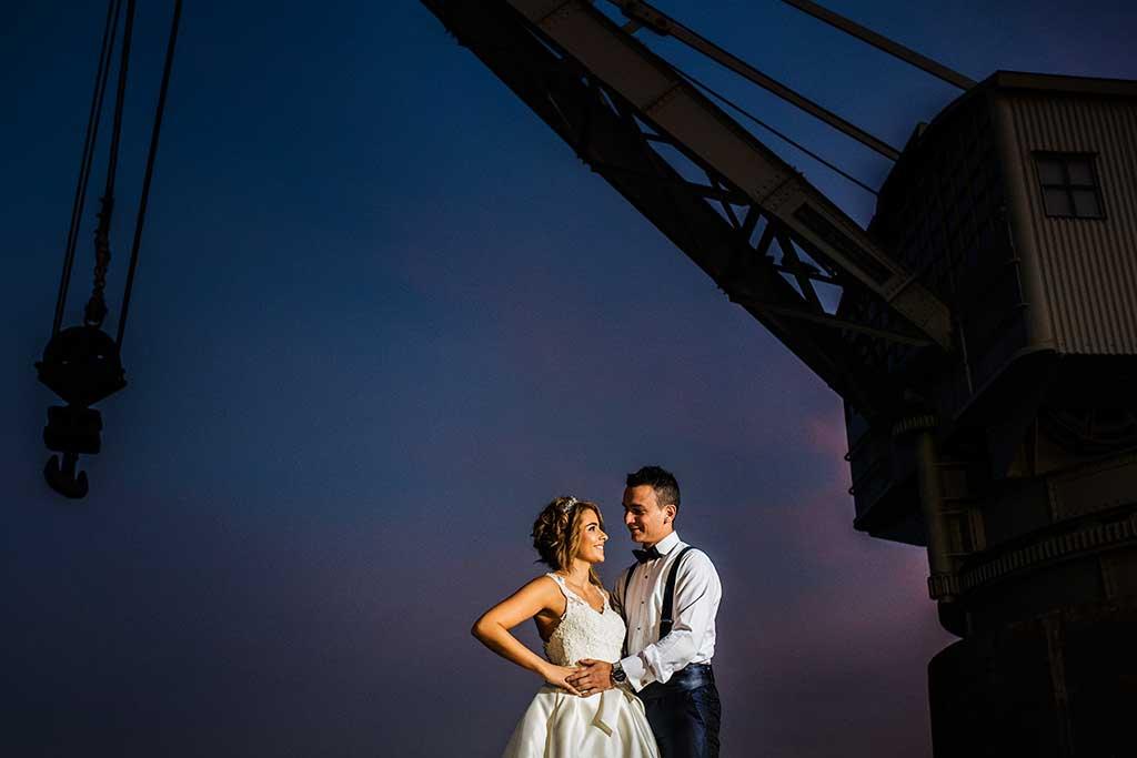 fotografo bodas Cantabria Andrea y Samuel grua