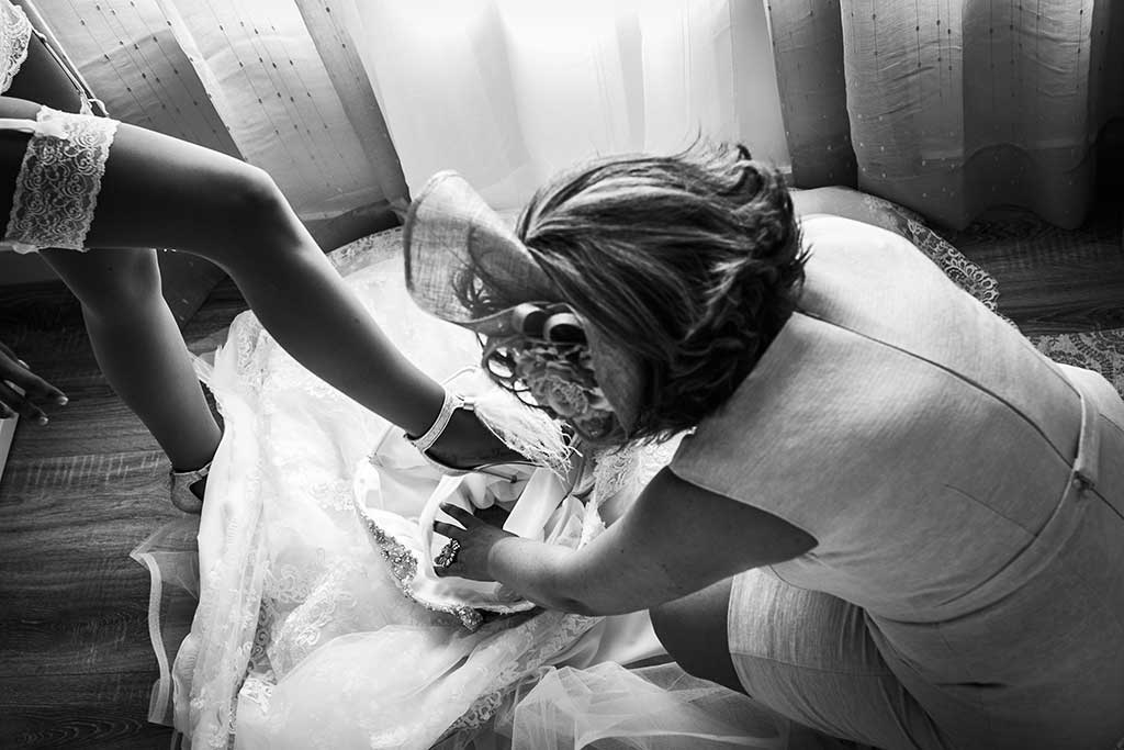 fotografo bodas Cantabria Andrea y Samuel pierna