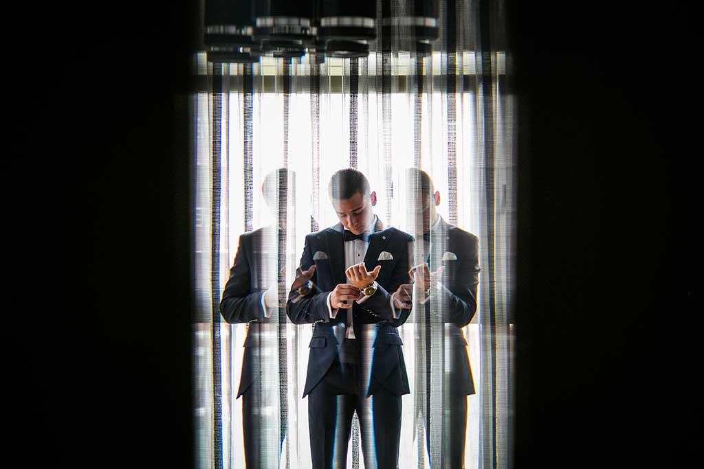fotografo bodas Cantabria Andrea y Samuel novio