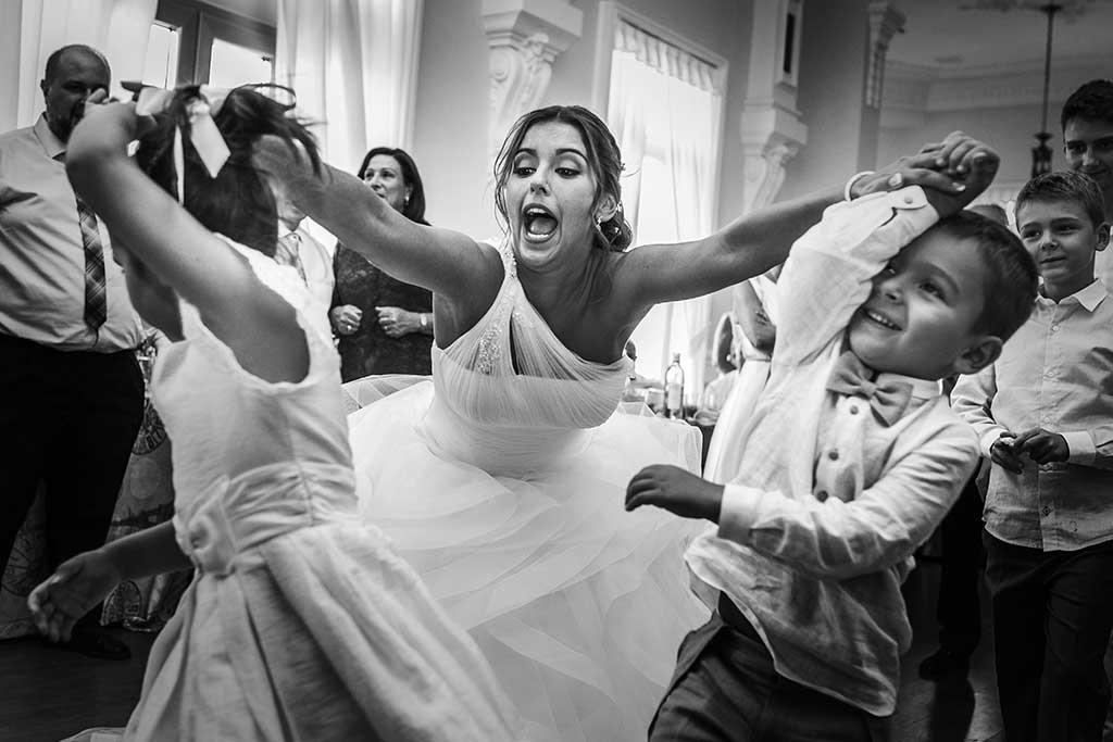 fotógrafo de bodas Santander Sandra y Fran nenes