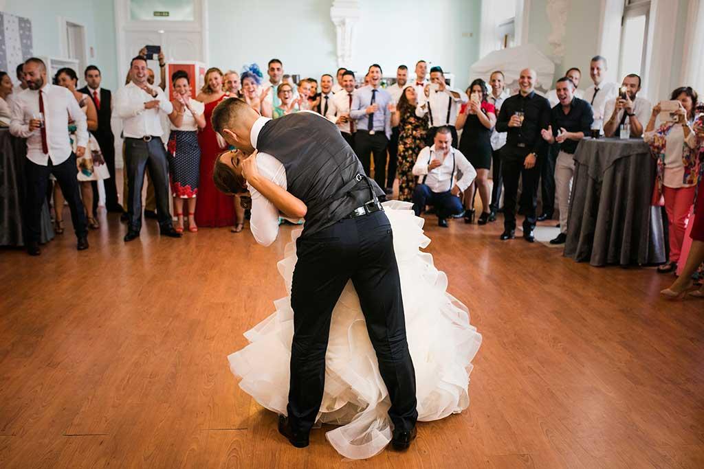 fotógrafo de bodas Santander Sandra y Fran baile nupcial