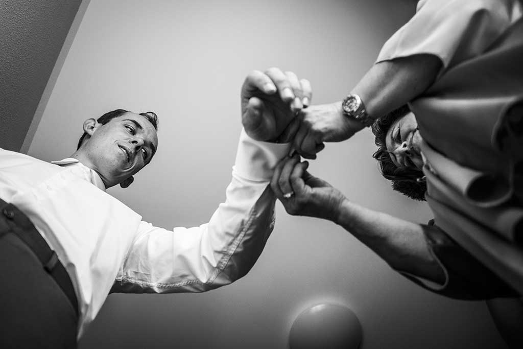 fotógrafo de bodas Cantabria Sara y Luis gemelos