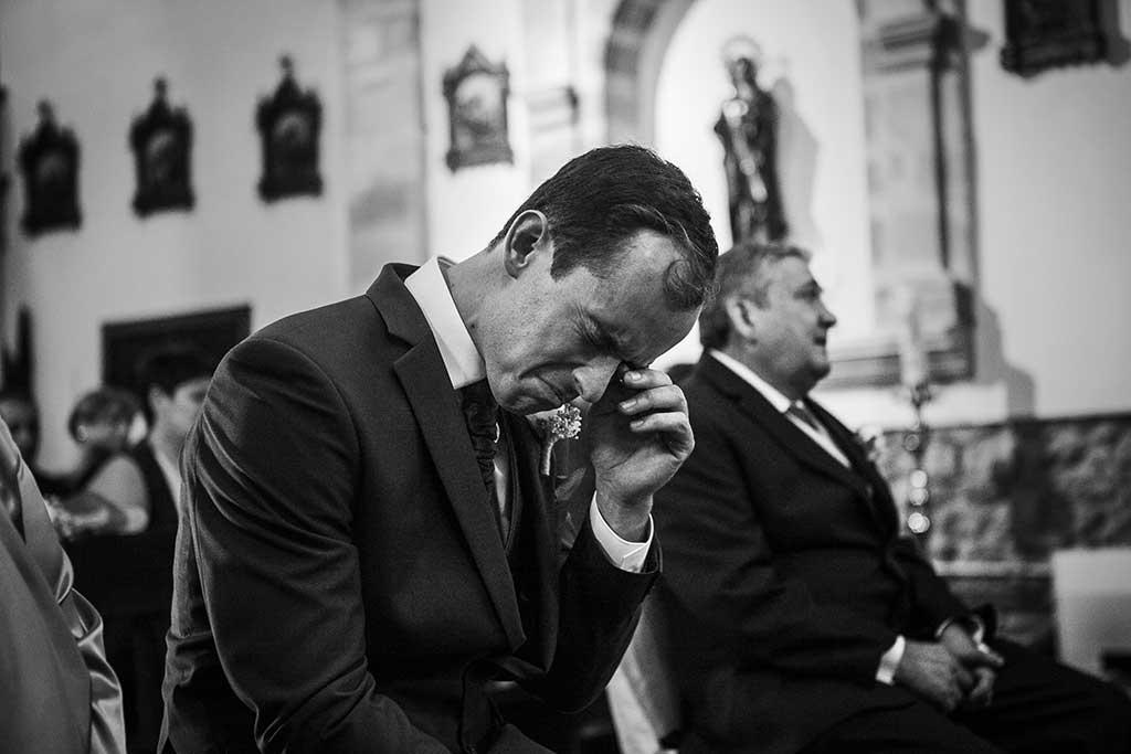fotógrafo de bodas Cantabria Sara y Luis emociones