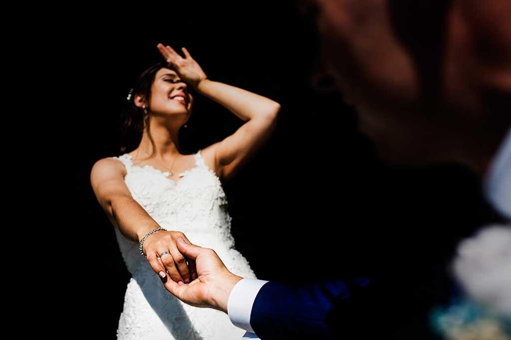 fotógrafo de bodas Cantabria Sara y Luis novios