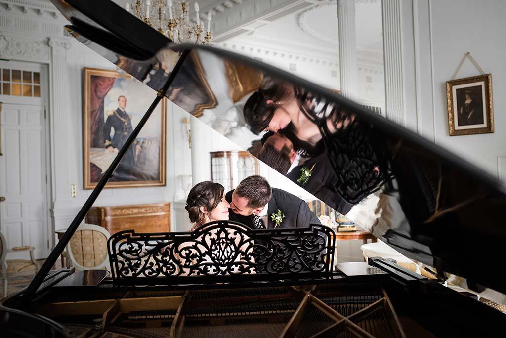 fotografo de bodas en Cantabria Maria y Borja piano