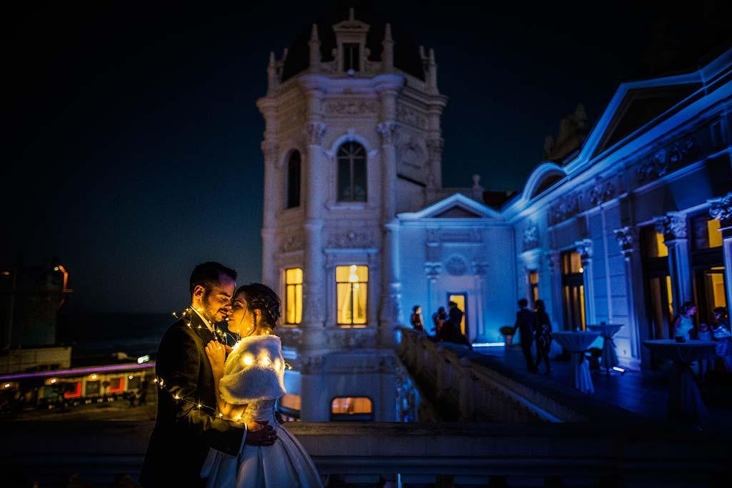 fotografo de bodas en Cantabria Maria y Borja torreo Casino