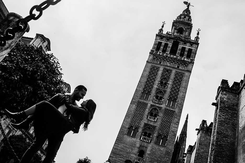 Fotógrafo de bodas Sevilla Marcos Greiz Giralda