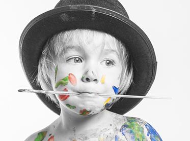 Fotografía de niños en Santander