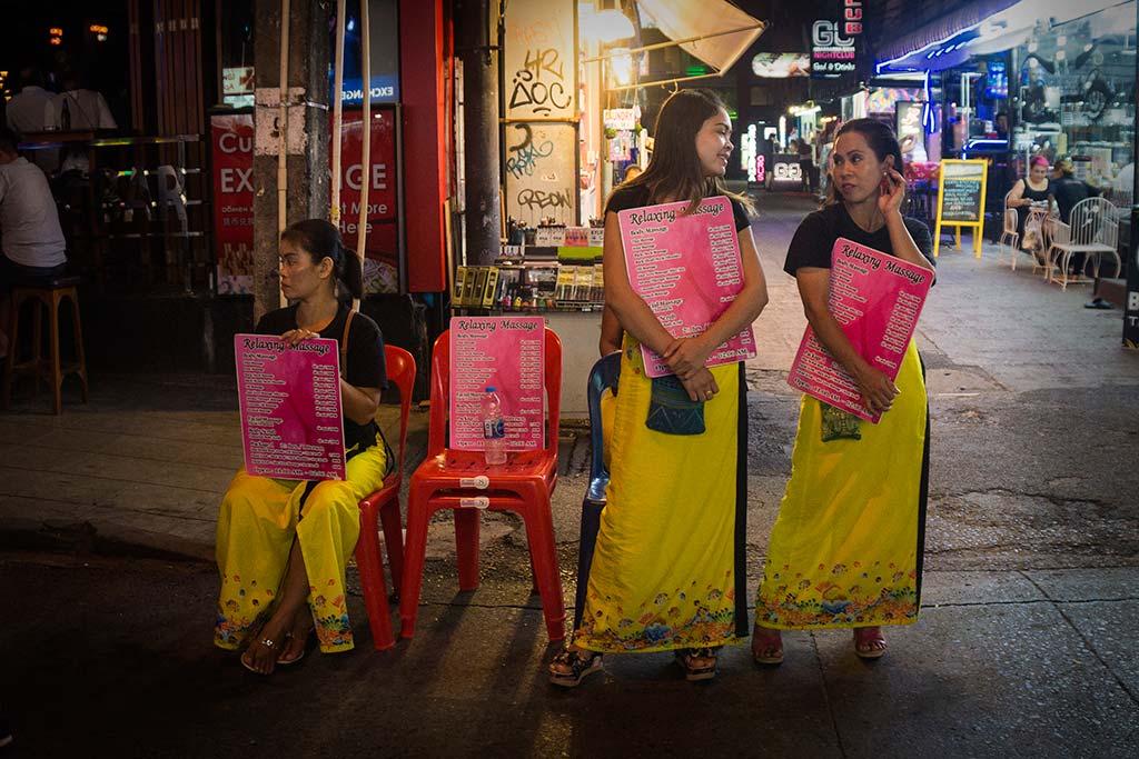 fotografía de viaje Tailandia masaje