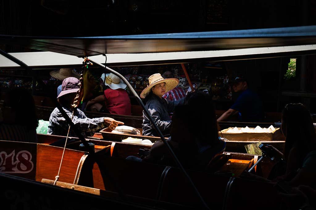 fotografía de viaje Tailandia mercader