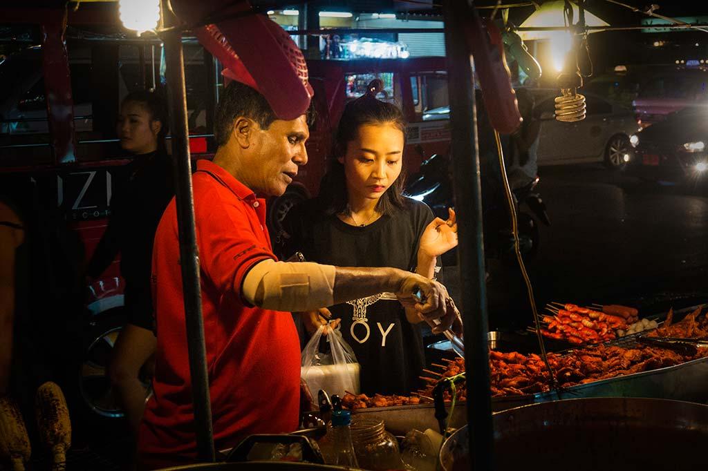 fotografía de viaje Tailandia mercado