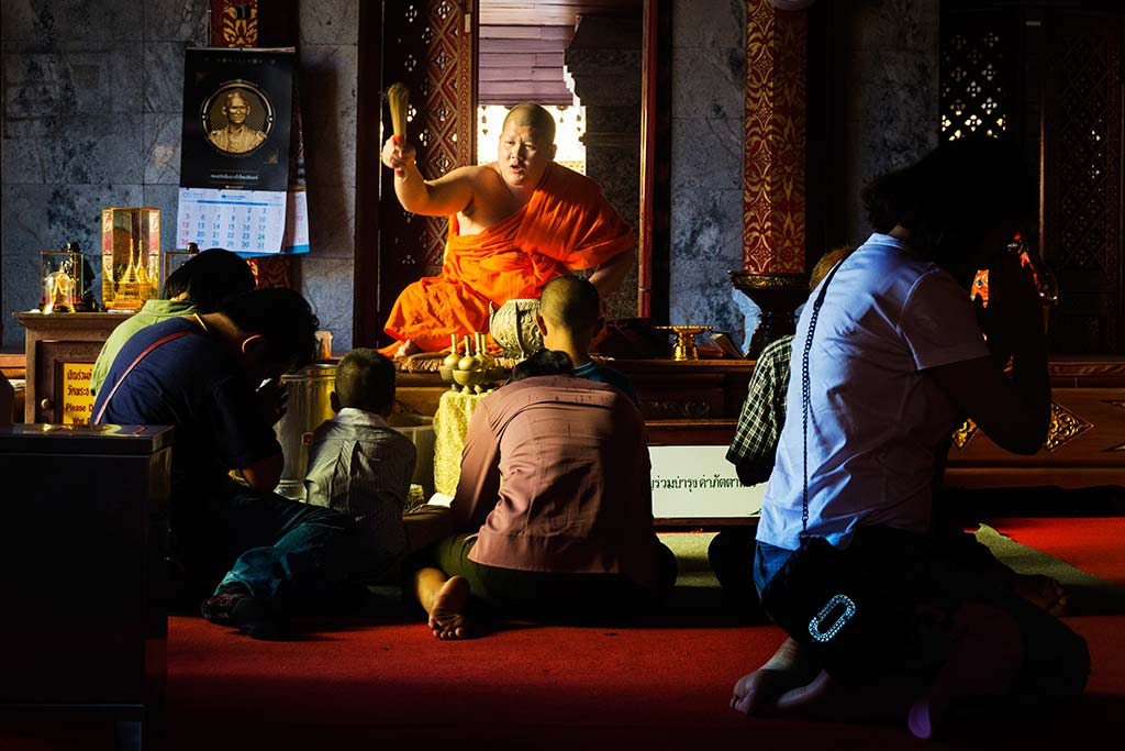 fotografía de viaje Tailandia monje