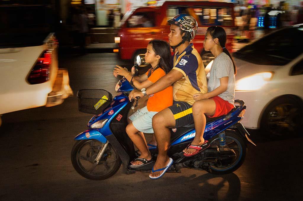 fotografía de viaje Tailandia moto